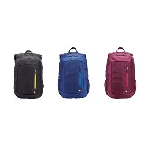 425023185a CaseLogic WMBP115 15.6″ Backpack Anthracite   Brick   Blue