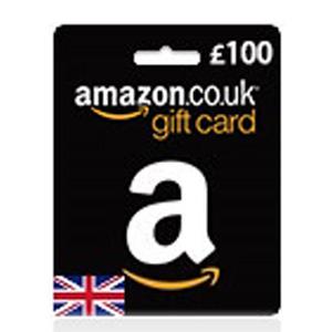 gbp100 amazon gift card uk