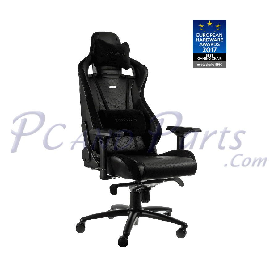 Stupendous Noblechairs Epic Gaming Chair Black Machost Co Dining Chair Design Ideas Machostcouk