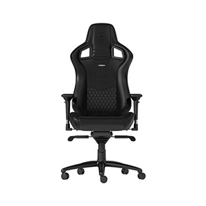 Outstanding Noblechairs Epic Real Leather Gaming Chair Black Inzonedesignstudio Interior Chair Design Inzonedesignstudiocom