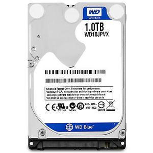 western digital blue wd10jpvx 1tb sata 5400rpm hard disk drive